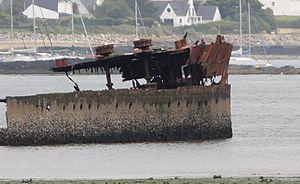 SMS Regensburg wreck, bow.JPG