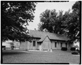 SOUTHEAST SIDE - Church of the Holy Family, State Route 157, Cahokia, St. Clair County, IL HABS ILL,82-CAHO,1-6.tif