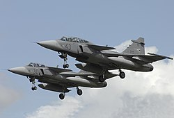 Saab JAS-39D Gripen, Hungary - Air Force JP6627802.jpg
