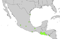 Sabal mexicana range map.png