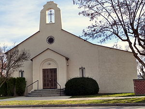 National Register of Historic Places listings in Gem County, Idaho - Image: Sacred Heart Catholic Church Emmett Idaho