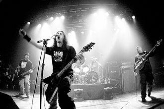 Sacrifice (band) - Sacrifice live in Toronto, 2009