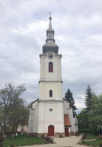 Săcueni - Image: Sacueni BH Reformed Church (front)