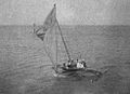Sailing Canoe on port tack, Jaliut Lagoon, Marshall Islands (1899-1900).jpg