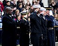 Sailors salute at the Tomb of the Unknowns. (8263437733).jpg