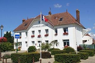 Saint-Maclou-la-Brière Commune in Normandy, France