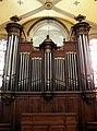 Saint-Malo (35) Église Sainte-Croix Orgue de choeur 01.jpg