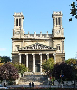 10th arrondissement of Paris - Image: Saint Vincent de Paul Paris