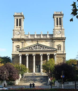 Saint-Vincent-de-Paul, Paris - Church of Saint-Vincent-de-Paul in Paris