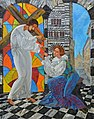 Saint Catherine of Genoa. Painting..jpg