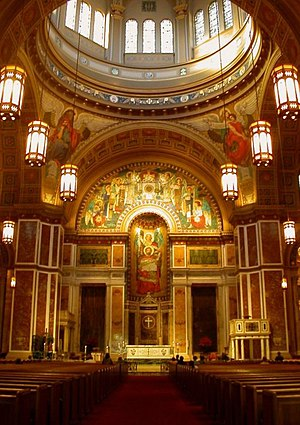 Cathedral of St. Matthew the Apostle (Washington, D.C.) - Cathedral interior