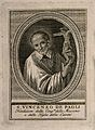 Saint Vincent de Paul. Line engraving. Wellcome V0006051.jpg