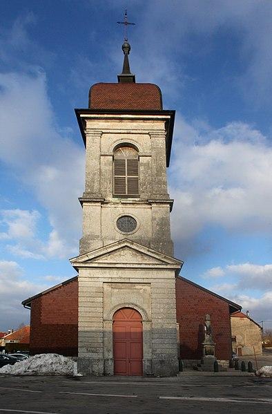 Eglise de Sainte-Colombe (Doubs).