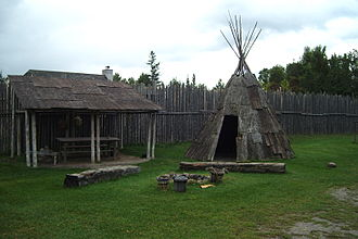 Sainte-Marie among the Hurons - Wigwam