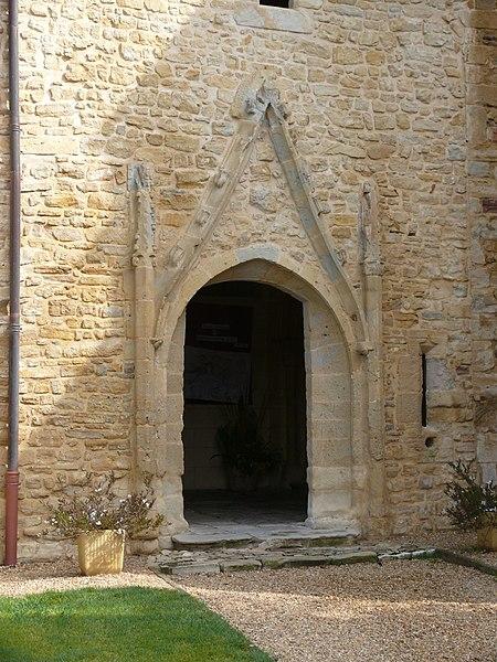 Our Lady's church in Sainte-Marie-de-Gosse (Landes, France)