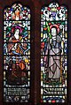 Saints Therese and Winefride window, Holy Name church, Oxton.jpg