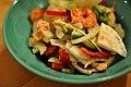 Salat med laks og tigerrejer (6453304427).jpg