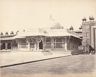Salim Chishti - Salim Chishti Tomb taken by Samuel Bourne in 1865