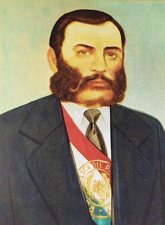 Vice President of Paraguay - Image: Salvador Silvestre del Rosario Jovellanos Guanes