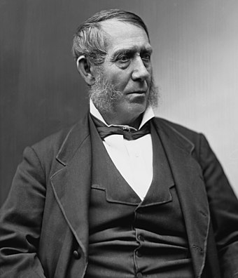 Samuel J. Kirkwood, founder of the Iowa Republican Party, abolitionist, and Iowa's Civil War Governor Samuel Jordan Kirkwood.jpg
