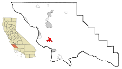 San Luis Obispo County California Incorporated and Unincorporated areas San Luis Obispo Highlighted.svg
