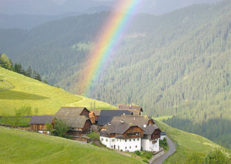 Family farm - Mountain farms in South Tyrol.