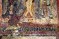 San lorenzo in insula, cripta di epifanio, affreschi di scuola benedettina, 824-842 ca., crocifissione coi dolenti e l'abate epifanio 04.jpg