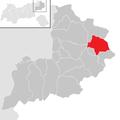 Sankt Ulrich am Pillersee im Bezirk KB.png