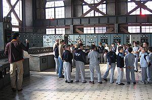 SantralIstanbul - Energy museum - Control room