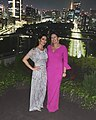 Sarah Sanders and Stephanie Grisham after the State Dinner in Tokyo.jpg
