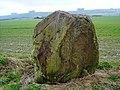 Sarsen stone, Fiddler's Hill, Hackpen, Wiltshire - geograph.org.uk - 343243.jpg