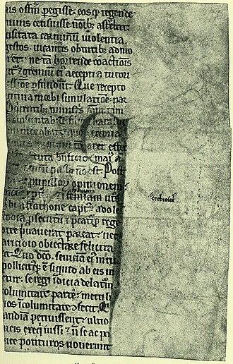 Kall-Rasmussen Fragment - Image: Saxo kallfrag 2 front 001