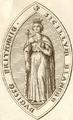 Sceau de Blanche de Navarre - Duchesse de Bretagne.png