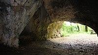 Schelklingen - Sirgensteinhöhle im Achtal.JPG