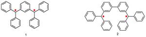 Non-Kekulé molecule - Schlenk-brauns hydrocarbons