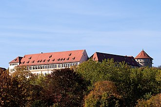 Euthanasia trials - The proceedings of the Grafeneck trial took place in Hohentübingen Castle