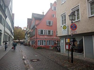 Schmiedtorstraße Tübingen. Bushaltestelle Bürgeramt (2018).jpg