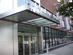Schomburg Center, Harlem, NYC