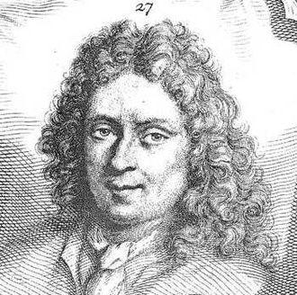Jan Verkolje - Jan Verkolje in Houbraken's Schouburg