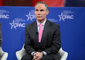 Scott Pruitt - Pruitt speaking at the 2015 Conservative Political Action Conference (CPAC) in Washington, D.C.
