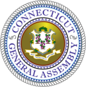 Connecticut General Assembly - Image: Seal of the General Assembly of Connecticut
