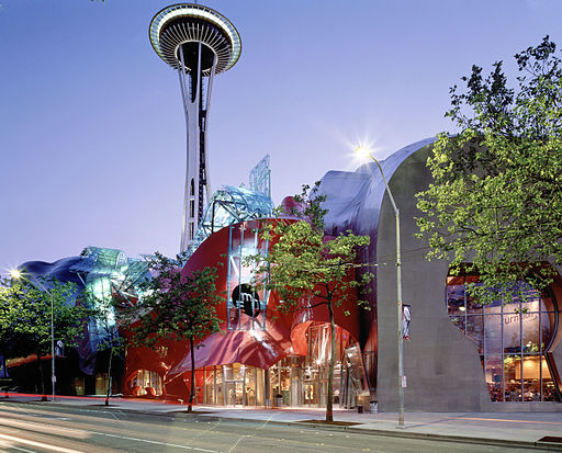 Seattle Center, Space Needle, Experience Music Project, Sci-Fi Museum