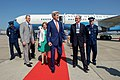 Secretary Kerry walks with Consul General Story, Ambassador Ayalde and a Brazilian protocol official at the Galeão International Airport in Rio de Janeiro (28166335614).jpg