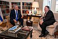 Secretary Pompeo Meets with Israeli Prime Minister at Blair House (50346963512).jpg