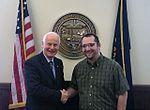 Secretary Richardson and Austin Schulz (33753240493).jpg