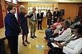 Secretary Sebelius, Don Berwick, & Kathy Greenlee visit Arthur Capper Senior Center Monday November 15th to kick off this year's Open Enrollment season.jpg