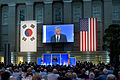 Secretary of Defense Chuck Hagel addresses the audience at the 60th Anniversary Gala of the U.S.-Republic of Korea Alliance hosted by Republic of Korea President Park Guen-hye in the National Portrait Gallery in 130507-D-BW835-614.jpg
