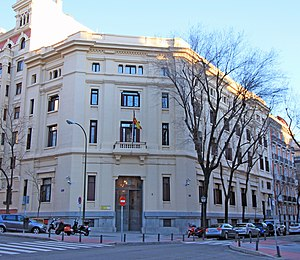 Centro de Investigaciones Sociológicas - Head office of the institute in Madrid
