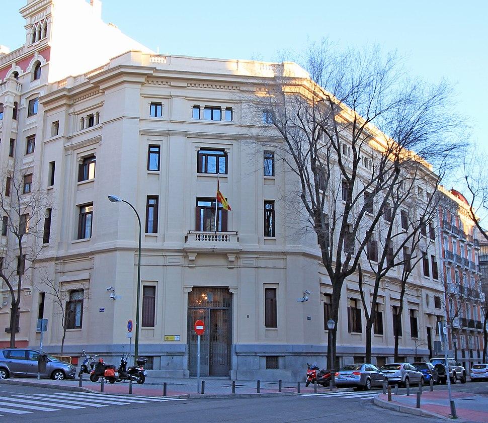 Sede del Centro de Investigaciones Sociológicas de España (Madrid) 01