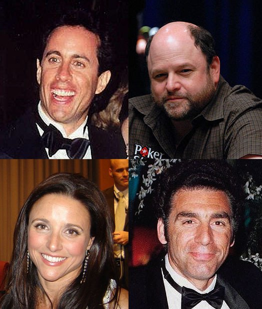 Seinfeld actors montage